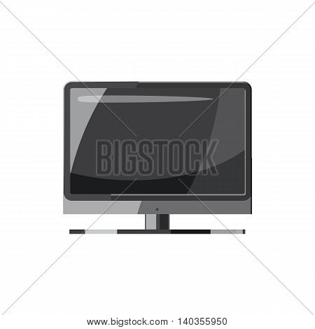 TV icon in cartoon style isolated on white background. Tehnique symbol