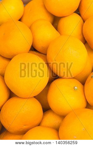 Fresh Orange fruit  is very much on the market background