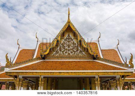 Wat Ratchanatdaram (loha Prasat), Bangkok, Thailand