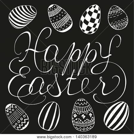 Easter Lettering Design