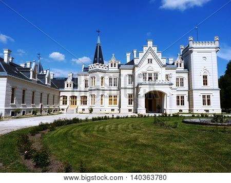 The Nadasdy Castle in Nadasdladany, Central Hungary