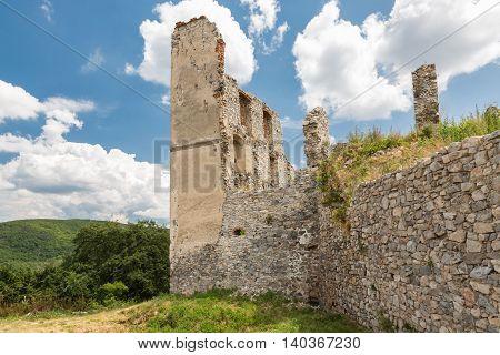 Oponice Castle Ruin, Slovakia