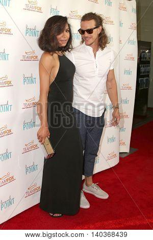 LOS ANGELES - JUL 27:  Naya Rivera, Ryan Dorsey at the