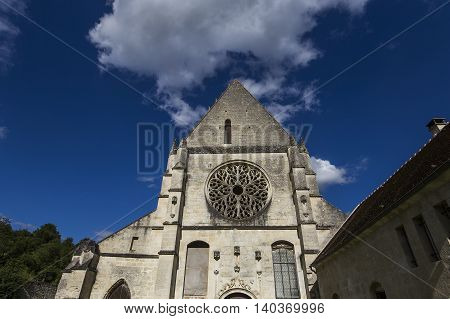 Abbey Notre Dame De Lieu Restaure, Oise, France