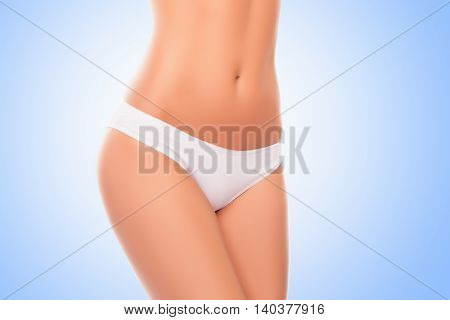 Close Up Photo Of Attractive White Women's Panties