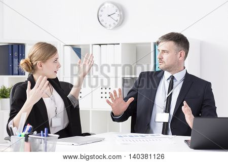 Business People Arguing