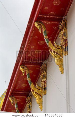 Famous Wat Pho In Bangkok, Thailand