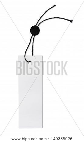 Blank price or gift tag, isolated on White