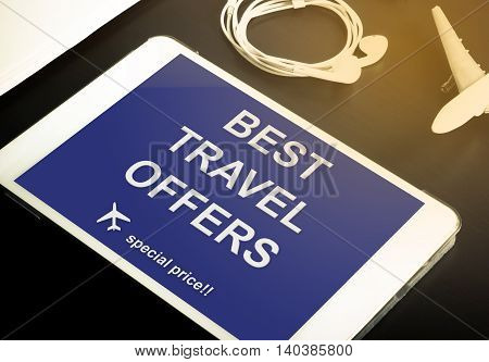 Online travel agency special discount website. Best travel offer for online travel booking. Travel booking mobile application with special offer for Internet booking for hotels and transportations.