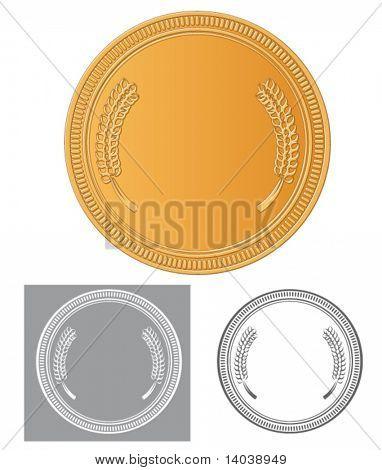 vector medal