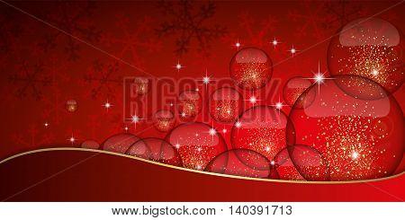 Christmas Glitter Banner