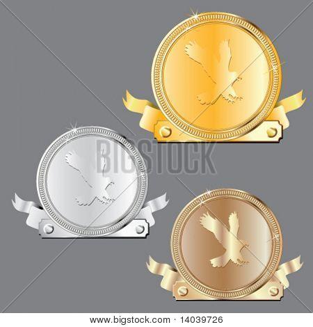 vector awards set