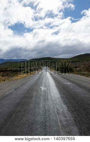 Driving On A Cloudy Day - Oudtshoorn