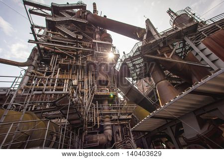 Landschaftspark Nord Duisburg blast fornace Industry architecture