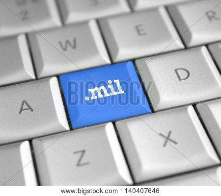 .mil domain name