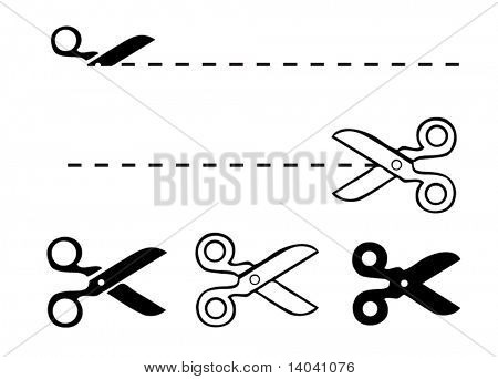 set of scissors