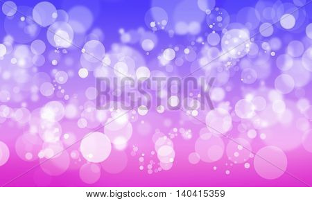 Abstract background with color blurred bokeh lights
