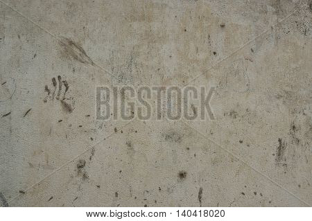 Old dirty grey concrete texture wall for background