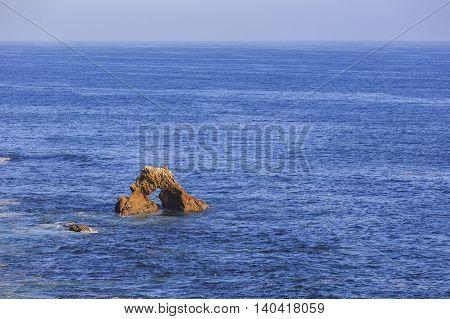 Beautiful Sea Shore, Rocks At Little Corona Beach