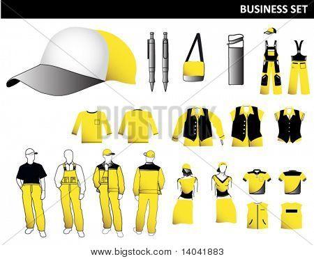 business clothes set