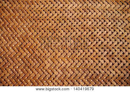 Bamboo Weave Basket texture and background. abstract