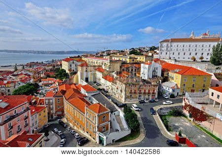 Alfama district, the heart of old Lisbon