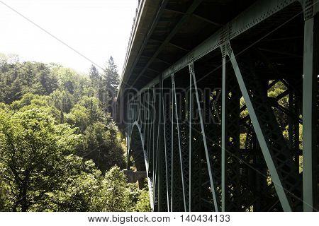Cut River Bridge in the Upper Peninsula of Michigan.