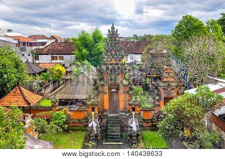 Traditional balinese temple Pura BejiBali's highlands and coasts are home to many ancient temples. Several of them have become the island's most iconic landmarks, featuring magnificent centuries-old architecture and set against the exotic backdrops.