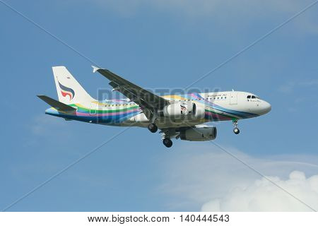 Hs-pgy Airbus A319-100 Of Bangkok Airway.