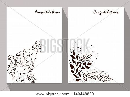 Greeting Cards. It can be used as decoration menus price tags discount cards and bonuses or other applications