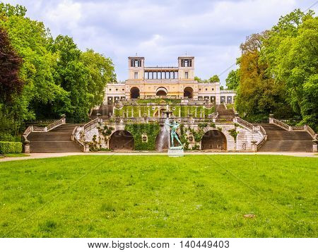 Orangerie In Potsdam Hdr