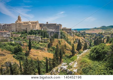 Panoramic View Of Gravina In Puglia, Italy