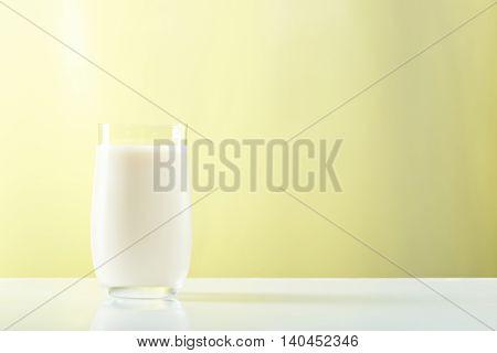 Glass With Milk