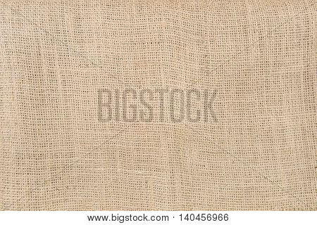 a Gunny Sack or Burlap Texture Background