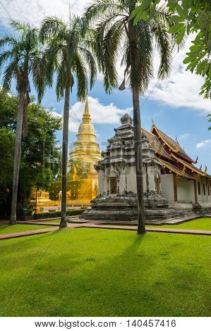 Wat Phra Sing In Chiang Mai Province ,thailand
