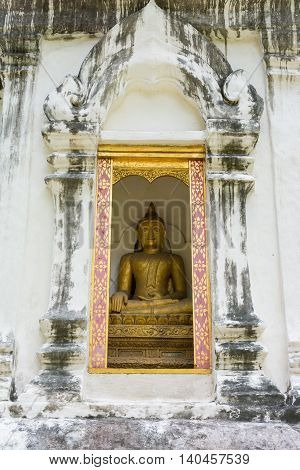 Buddha Statue At Wat Phra Sing In Chiang Mai Province ,thailand
