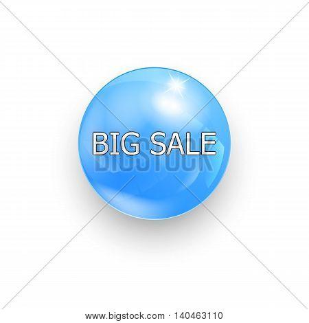 Save Big Advertising Symbol Big sale vector