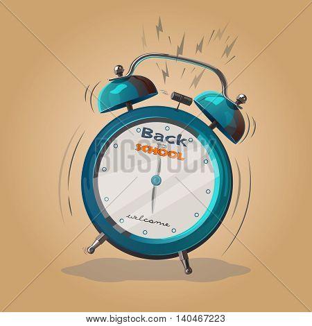 Alarm Clock Back To School