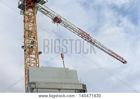 construction site of the new City Hall in the city of Chartres, France