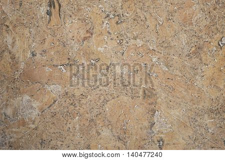 real cork background painted with antique oil, backdrop