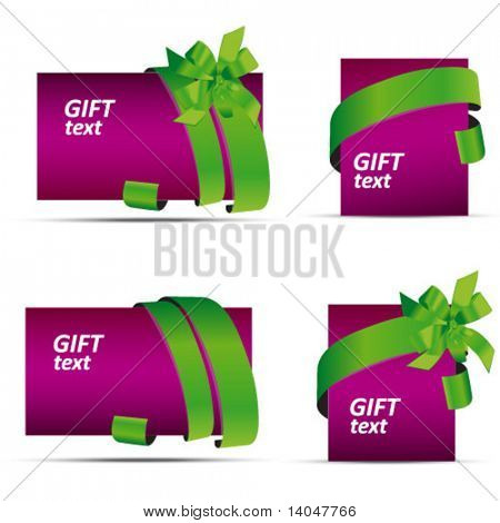 violet sale and gift tags
