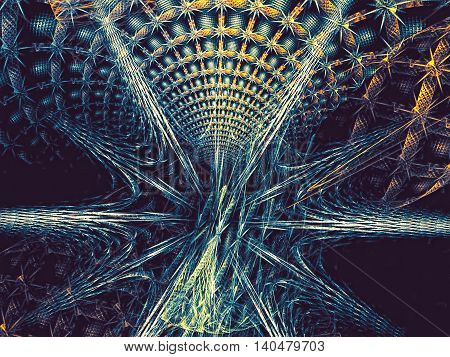 Abstract Mysterious Portal - Digitally Generated Image