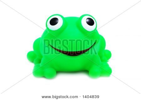 Crazy Frog Toy (Isolated On White)