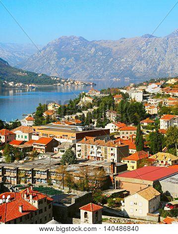 Kotor Overlooking, Montenegro