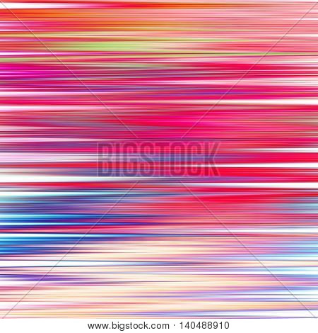 pink blurred abstract background texture with horizontal stripes. glitches distortion on the screen broadcast digital