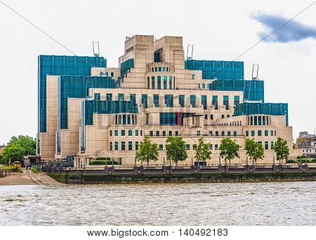 British Secret Service Buidling Hdr
