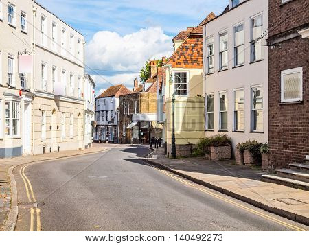 City Of Canterbury Hdr