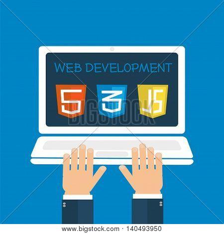Web Development Hands On Laptop