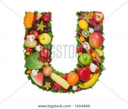 Alphabet Of Health - U