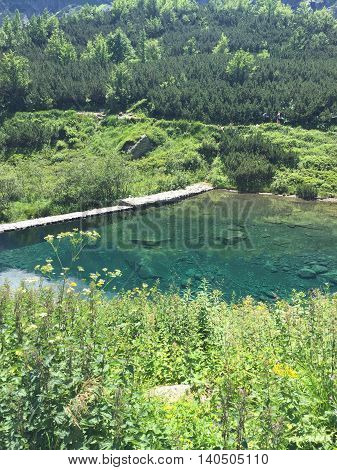 Green Mountain Lake , SLOVAKIA , LOVE ,